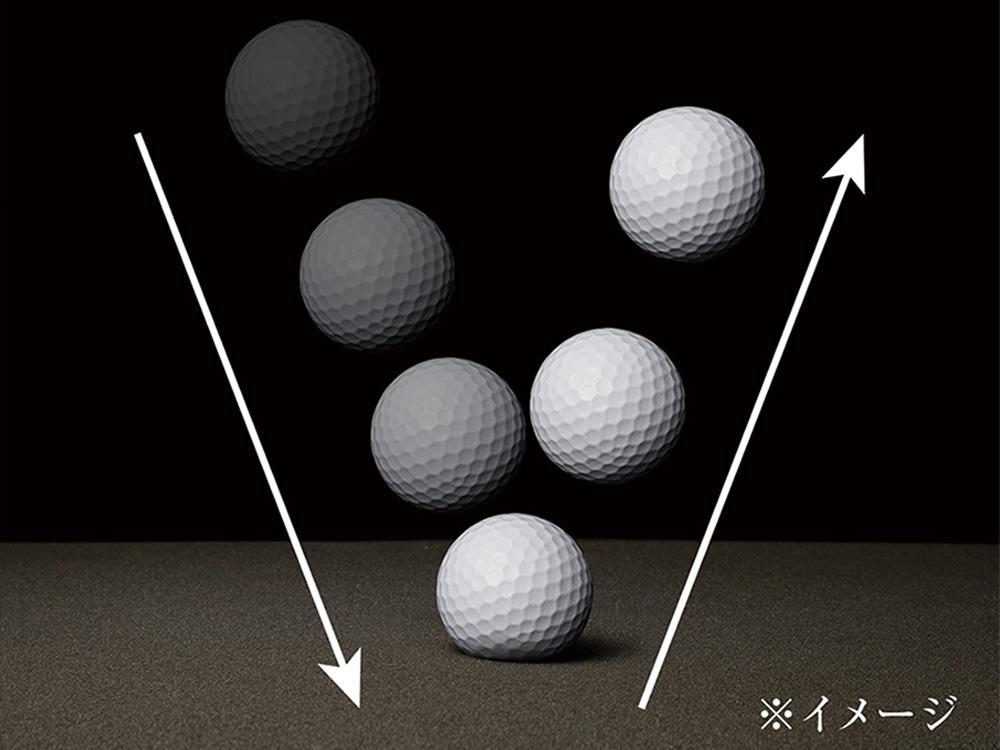 下部の高反発ウレタンが、体を沈み込ませ過ぎることなく、理想的な姿勢をサポートします。