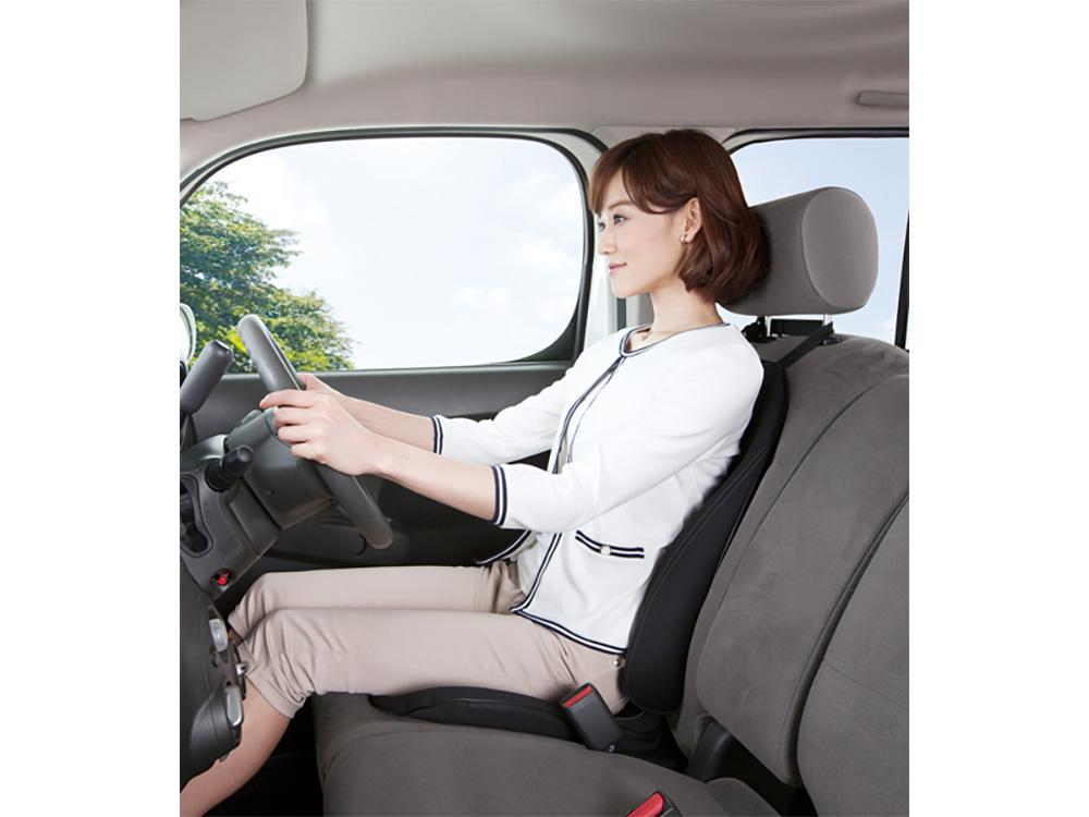 長時間の運転時でも、乗り心地◎