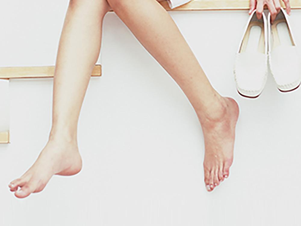 足のむくみとお洒落の関係