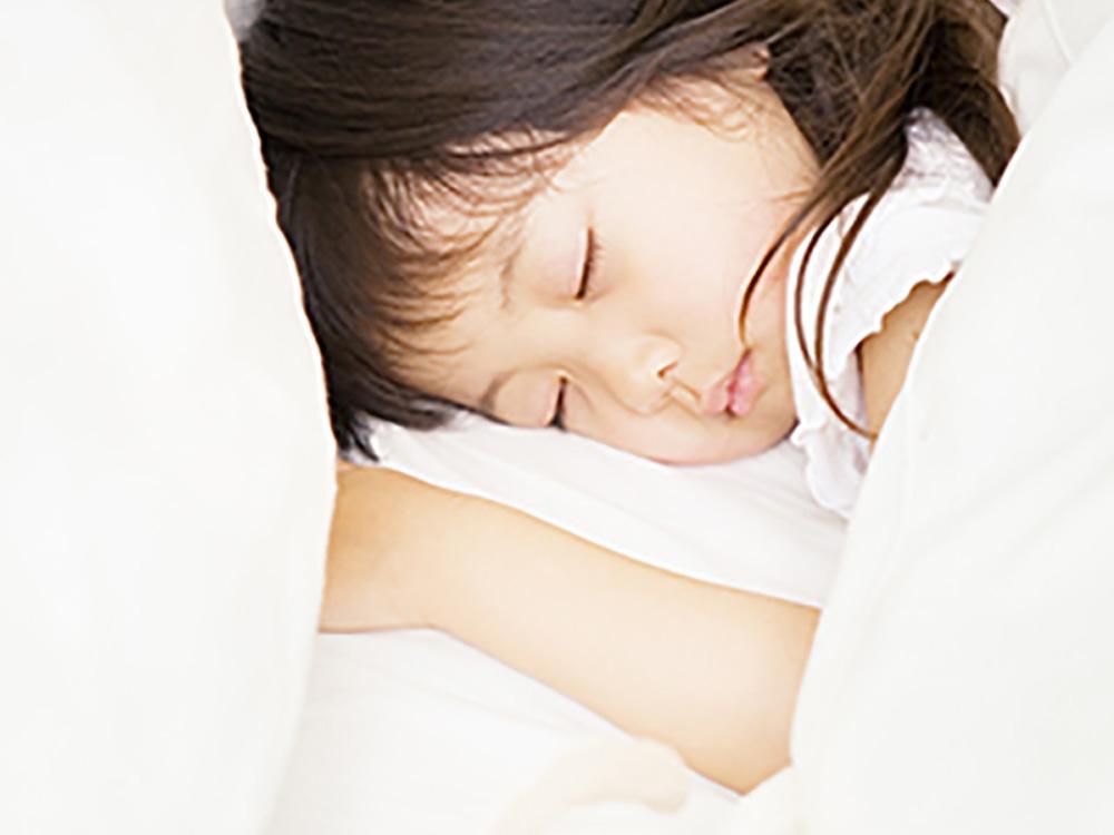 「寝る子は育つ」には 理由があるんです