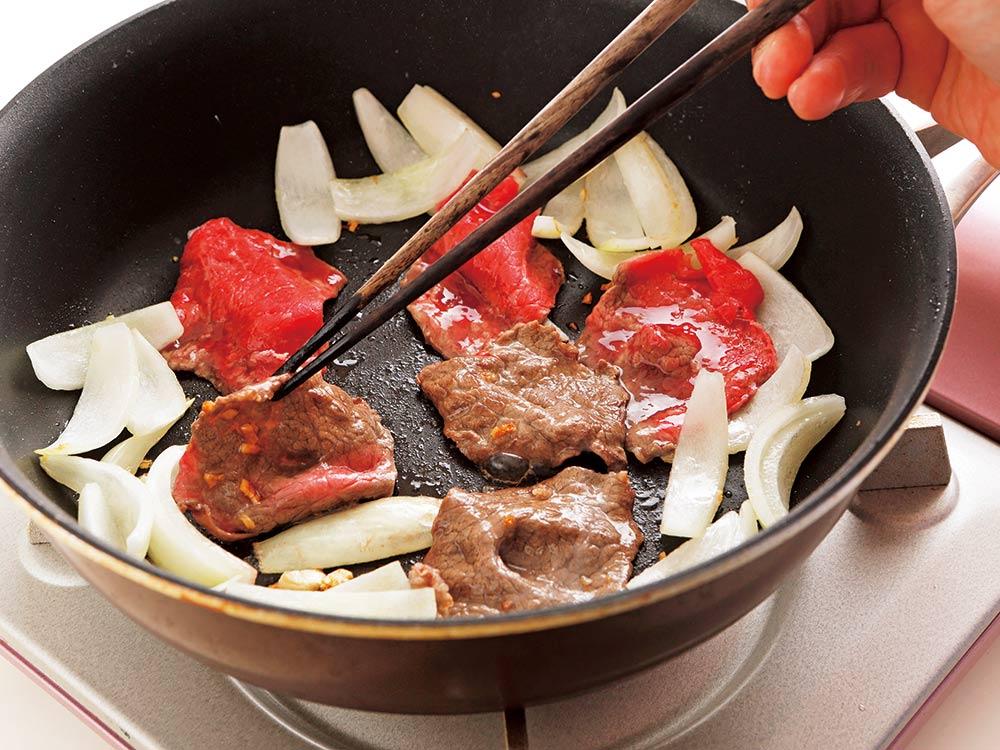 牛肉をやわらかく焼くコツ