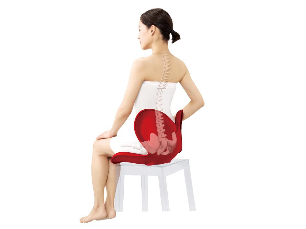 Body Make Seat Styleは座り姿勢をサポートするシートです。