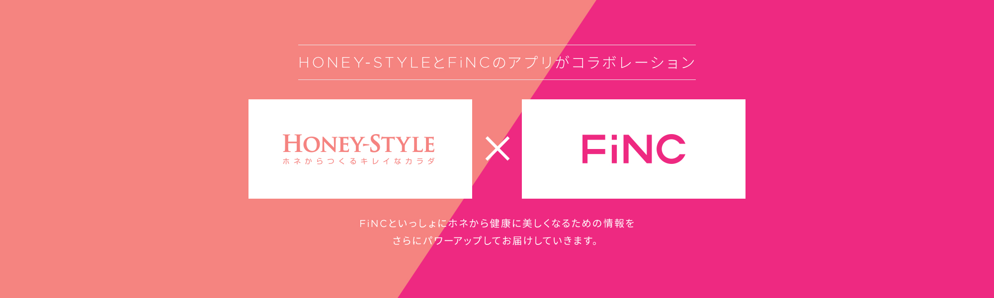 HONEY-STYLE×FiNC_PC