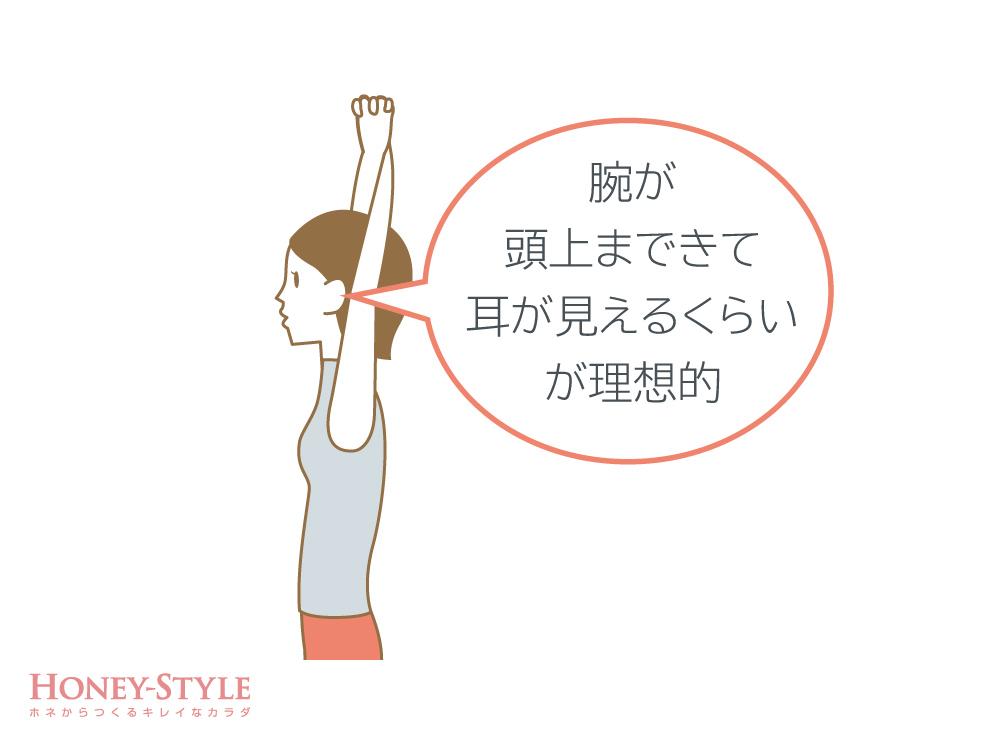 肩甲骨の動きを確認2
