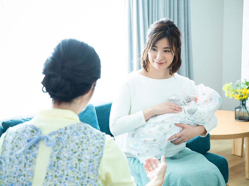 産後ケア施設を利用