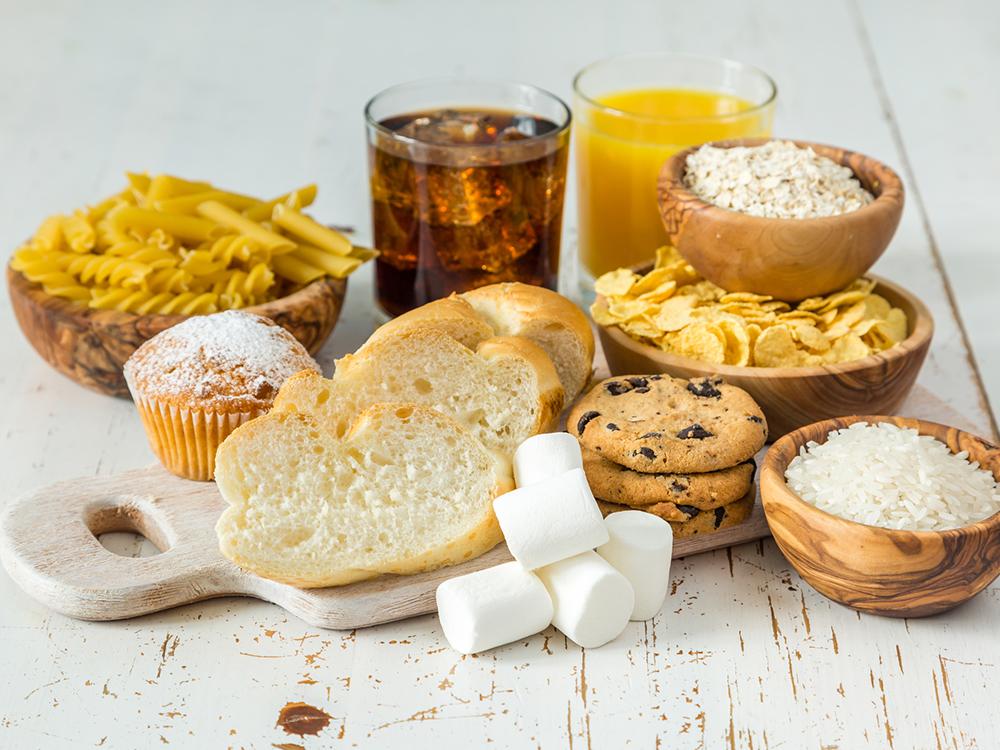 糖質に偏った食事
